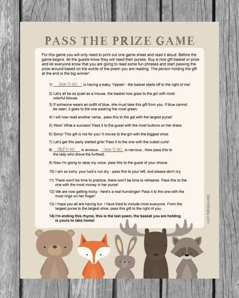 Baby Shower Games That Arent Cheesy That Your Guests Will