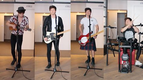 Connor Ball does an EPIC cover of twentyone pilots mash-up and dresses as all four members of The Vamps!