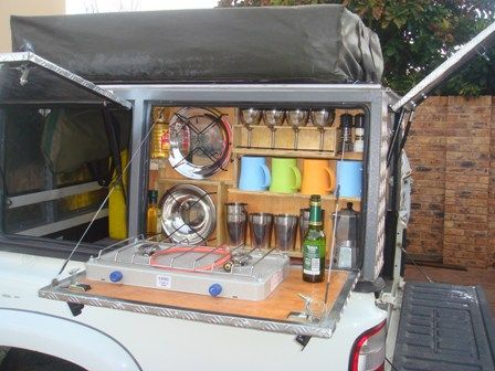 DIY Canopy for Hilux with steel frame and Aluminium Cladding | c&ing | Pinterest | Aluminium cladding Cargo trailer c&er and Expedition trailer & DIY Canopy for Hilux with steel frame and Aluminium Cladding ...