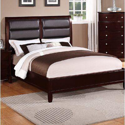 Latitude Run Hoggan Upholstered Standard Bed Size California King In 2020 Upholstered Panel Bed Upholstered Sleigh Bed Bed