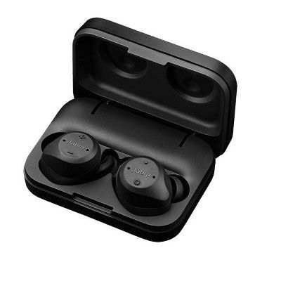 Jabra Elite Sport Black True Wireless Earbuds 4 5 Hr Manufacturer Refurbished Wireless Headphones Review Bluetooth Headphones Wireless