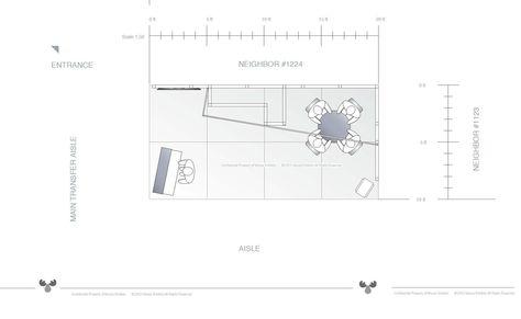 10 X 20 Trade Show Exhibit Floor Plan Design Floor Plan Design