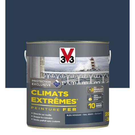 Peinture Fer Extérieur Climats Extrêmes V33 Bleu Hoggar 2