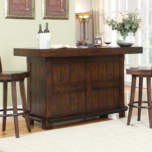 Found It At Wayfair Bar Cabinet With Spindle Game Room Bar Bar Cabinet Bars For Home