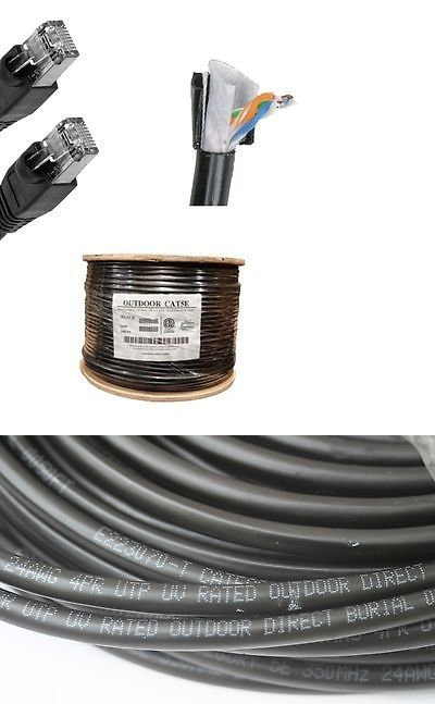Details About 100 Ft Cat5 Outdoor Waterproof Ethernet Cable Cat5e Direct Burial Internet Rj45 Networking Cables Ethernet Cable Graphic Card