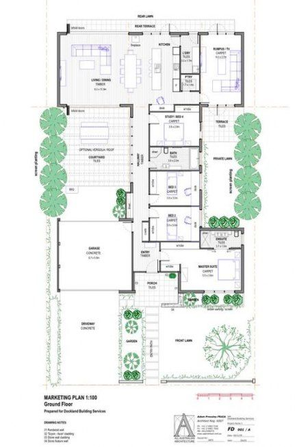 26 Ideas House Design Australian Australian House Plans House Plans Australia Courtyard House Plans