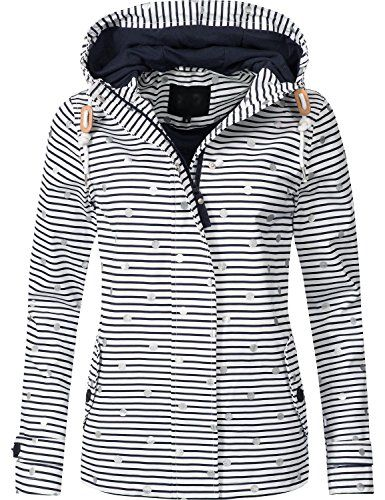 wholesale dealer 9b6e7 1538e Peak Time Damen Übergangs-Jacke Outdoorjacke L60031 Navy ...