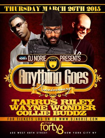 Anything Goes LIVE Anniversary @ Stage 48 Thursday March 26, 2015 « Bomb Parties – Club Events and Parties – NYC Nightlife Promotions