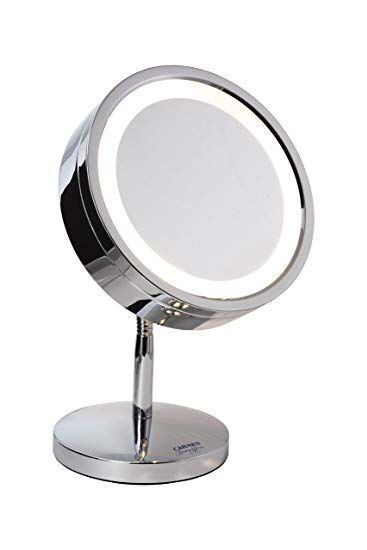 Chrome Plated Luxury Cosmetic, Luxury Makeup Mirror With Lights