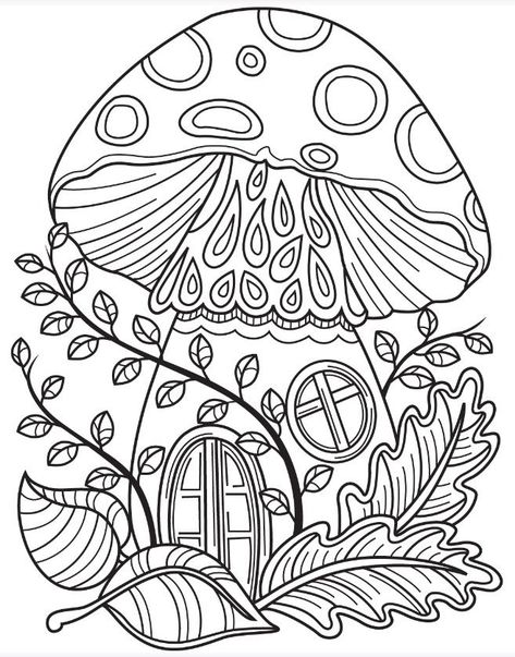 forest coloring page colorish free