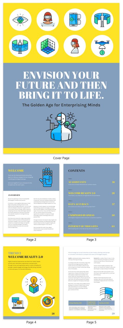 19 Consulting Report Templates That Every Consultant Needs - Venngage