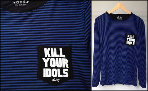 stripes Kill Your Idols long sleeve...