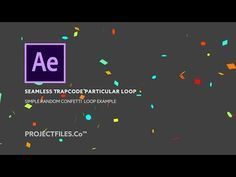 How To Make Confetti In Ae With No Plugins After Effects