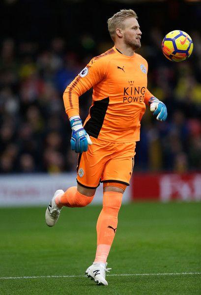 Kasper Schmeichel Photos Photos Watford V Leicester City Premier League Leicester City Premier League Kasper Schmeichel Leicester City