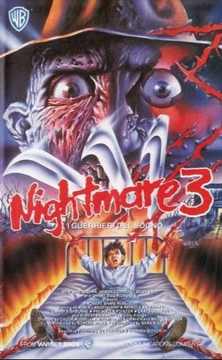 A Nightmare On Elm Street 3 Dream Warriors 1987 Italy A