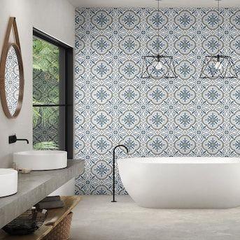 tile accent wall bathroom wall tiles