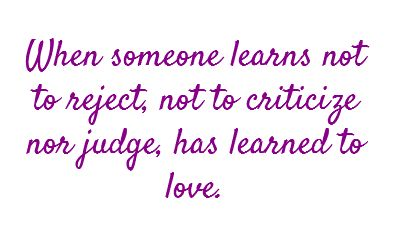 Learned to LOVE.