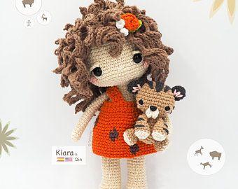Crochet Doll Pattern - My Melody 美樂蒂 | Bonecas de tricô, Boneca ... | 270x340