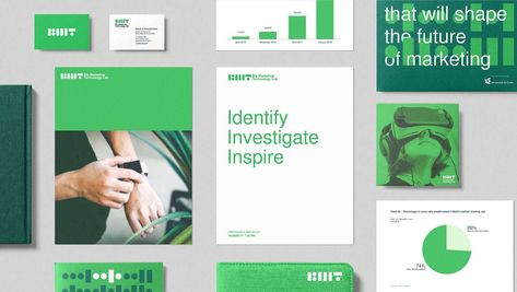 Corporate Branding for The Big Marketing Technology Lab - World Brand Design