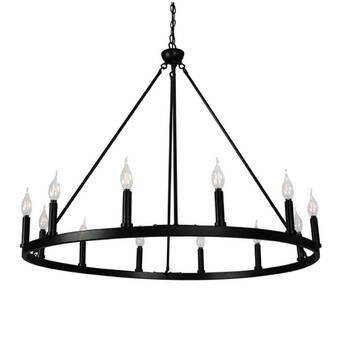 Ralls 6 Light Candle Style Classic Traditional Chandelier