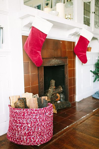 Firewood Feels - How Lonny Editors Decorate Their Homes For The Holidays - Photos