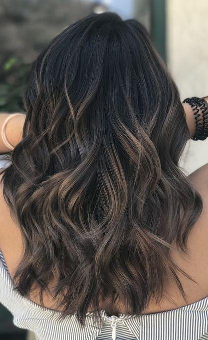 A Dark Ash Brown Balayage That Stylists Love Hair Styles Brown Hair Balayage Cool Hair Color