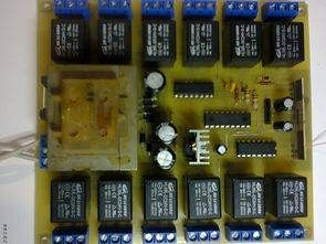 Pic16f628 12 Channel Rf Relay Control Rr10 Module Relay Pic Microcontroller Control