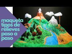 Cómo Hacer Maqueta Del Relieve Y Ecosistemas Proyecto Escolar En Porcelana Fría Plastilina Maquetas De Ecosistemas Maqueta De Relieve Como Hacer Maquetas