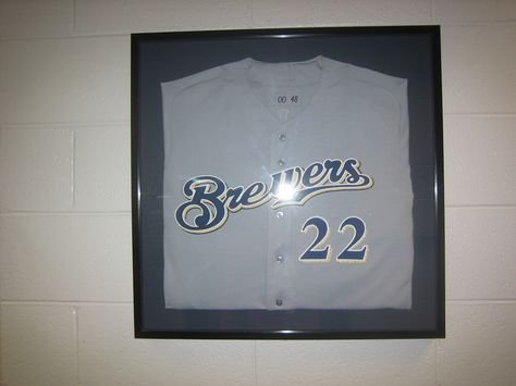 How To Frame A Jersey >> Frame A Jersey For The Creative In Me Pinterest