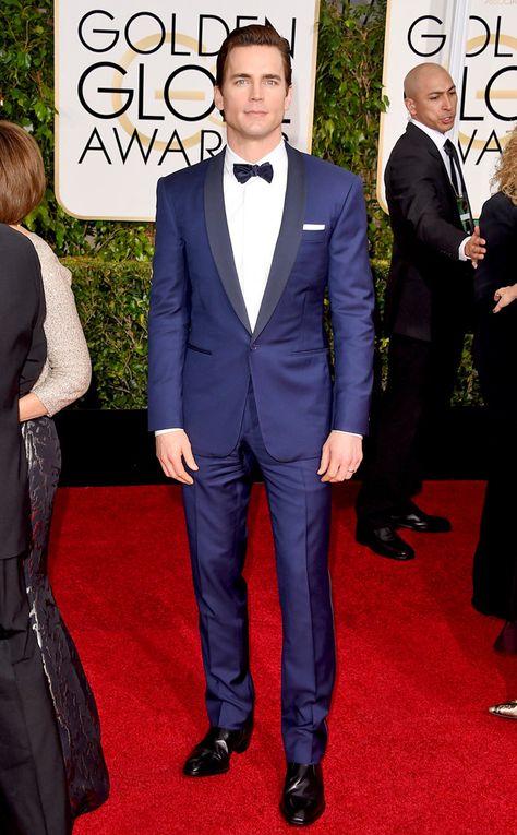 Golden Globes 2015 | Best Dressed | Matt Bomer | Ralph Lauren Black Label | Monogrammed Magnolias