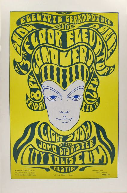 PSYCHEDELIC ROCK POSTER