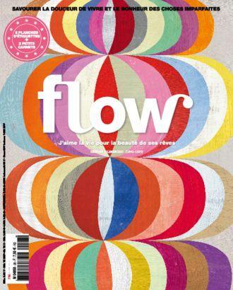 Flow Abonnement Pour 4 Ou 8 Numeros Geluk Frankrijk Illustraties