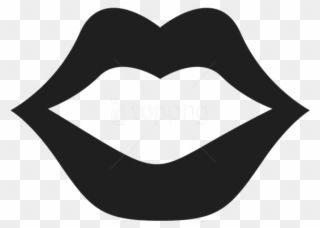 Free Png Movember Mouthpicture Png Images Transparent Kiss Clipart Black And White Clipart Black And White Free Png Png Images