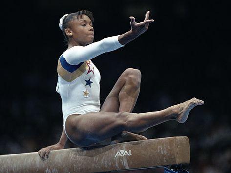 Gymnast Pix: Dominique Margaux Dawes