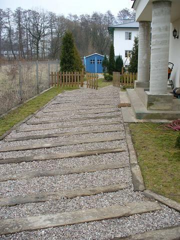 Podjazd Z Podkladow Kolejowych Twoj Eden Kompleksowe Uslugi Ogrodnicze Structures Sidewalk