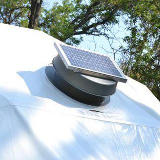 Solar Fan For 16ft T Dwell Dome Solar Fan Solar Power House Solar
