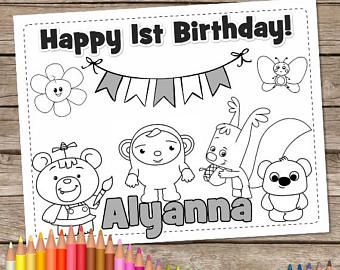 6 Baby First Tv Coloring Pages Printable Color Crew Birthday Baby First Tv Birthday Personalized Baby First Tv First Birthday Games Birthday Coloring Pages