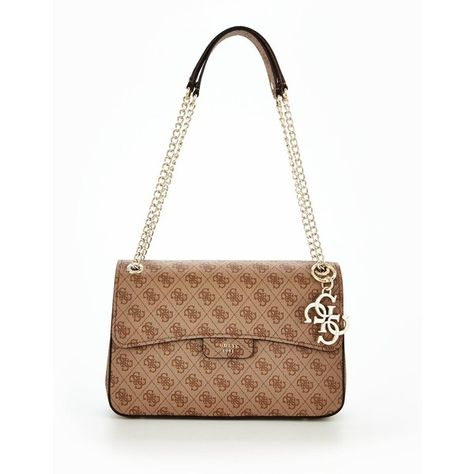 Guess Joleen Shoulder Bag (2,580 MXN) ❤ liked on Polyvore
