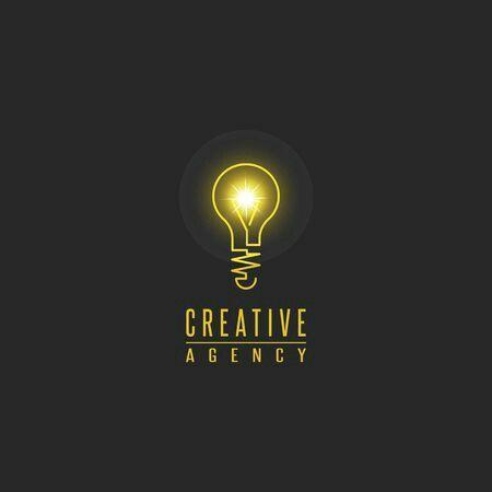 Pin De Mariela Portillo Em Bulb Idea Ilustrasion Inspiracao Para Logotipo Logotipo Logotipos