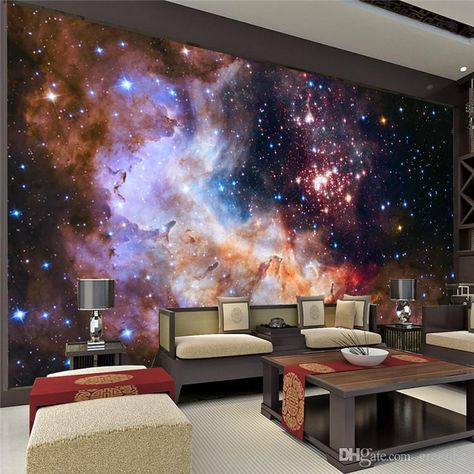 Free shipping, $25.96/Square Meter:buy wholesale 3D Gorgeous Galaxy photo wallpaper Custom Silk Wallpaper Starry Night Wall Mural Art Painting Hoom decor Kid Bedroom Living room Decoration from DHgate.com,get worldwide delivery and buyer protection service.