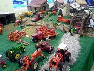 1 16 Farm Display Farm Toy Display Farm Toys Toy Display