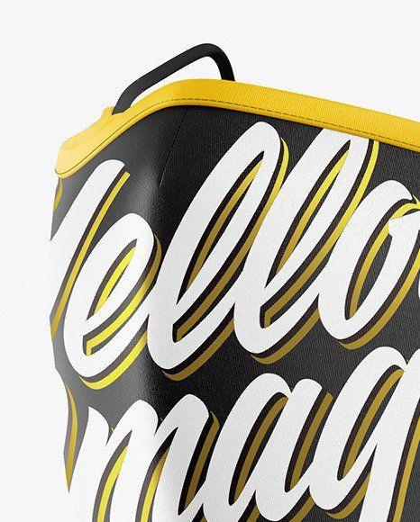Download Yellow Face Mask Mockup Clothing Mockup Mockup Free Psd Design Mockup Free