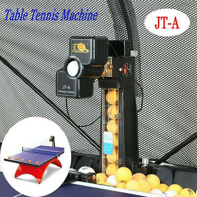 Table Tennis Robot Ping Pong Training Machine Multi Landing Points W Catch Net In 2020 Table Tennis Robot Table Tennis Ping Pong