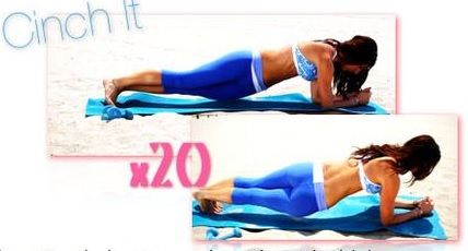 Image result for Plank hip twist