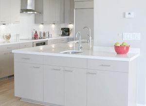 white laminate countertop | PC board | Pinterest | Laminate ...