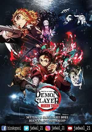 Demon Slayer Kimetsu No Yaiba The Movie Mugen Train Action Anime Sinopsis Indonesia Jatuh Lebih Dalam Ke Mimpi Tanpa Akhir Anime Animated Movies Slayer