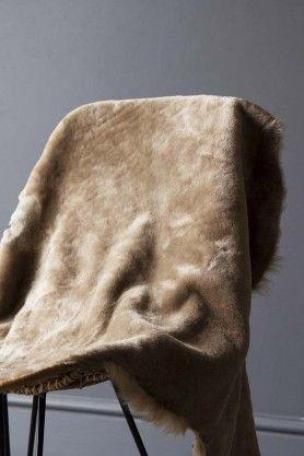 Genuine Shearling Sheepskin Rug Taupe Sheepskin Rug Rugs Plain Rugs