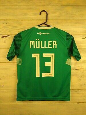 newest 71dee cd123 Advertisement(eBay) Muller Germany soccer jersey kids 9-10 ...