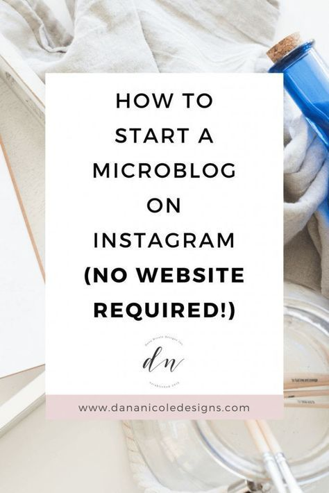 8 Easy Steps to Start a Blog on Instagram Today! (No Website Needed)