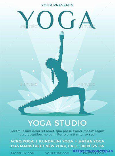 25 Yoga Flyer Template Free In 2020 Yoga Flyer Flyer Free Yoga
